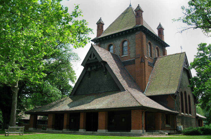 asheville historic attractions - all souls church