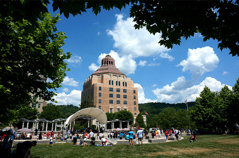 asheville historic attractions - city hall